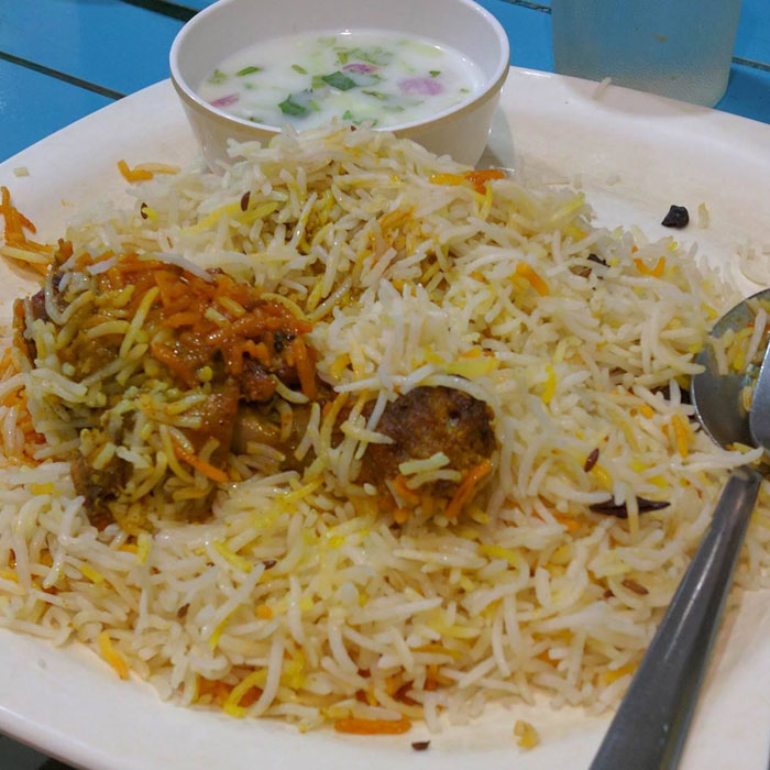 best biryani in chennai