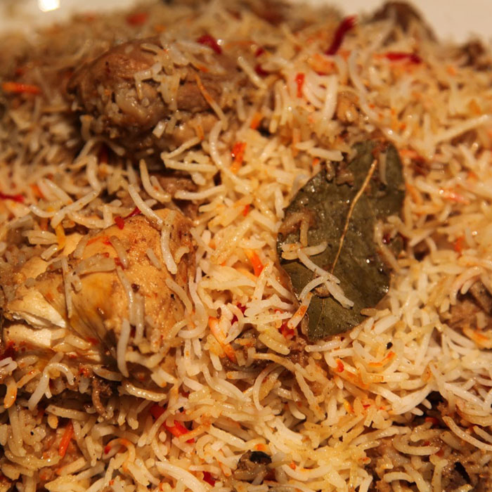 south indian biryani